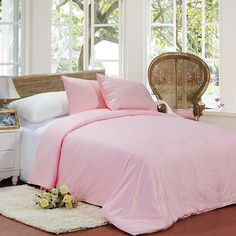 Top Class Pink Peony Flowers Patterns Comfortable Mulberry Silk Quilt