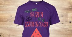 Discover Watermelon Tee  One In A Melon T-Shirt, a custom product made just for you by Teespring. With world-class production and customer support, your satisfaction is guaranteed. - Classic watermelon tee. Stand out and be...