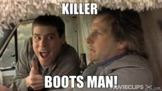 Don't forget the boots