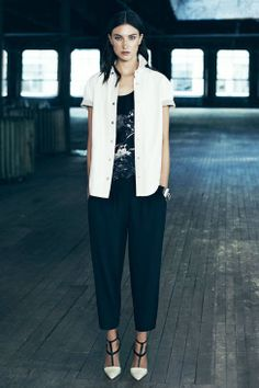AllSaints Spring 2014 Ready-to-Wear Runway - AllSaints Ready-to-Wear Collection
