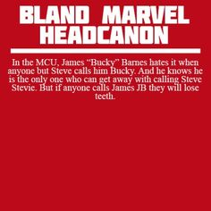 Bland Marvel Headcanons<<<I'm betting it was Tony who discovered this fact!