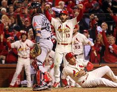 Cardinals go up 2-1 over Boston in WS