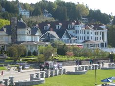 Mackinaw island is a nice place to escape! Love biking through the hills!