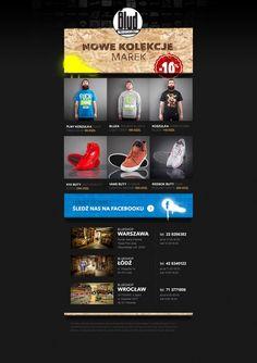 Clothes shop newsletter.