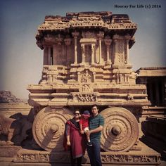 Ideal Yatra - Hampi - Stone Chariot of Vijaya Vittala temple
