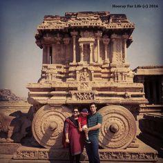 Ideal Yatra - Hampi - Stone Chariot of Vijaya Vittala temple