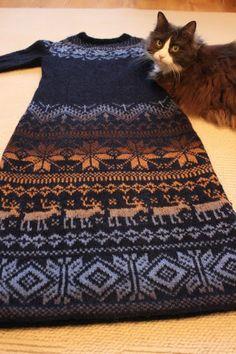 Осинка Жаккардомания. Туники, сарафаны и платья.