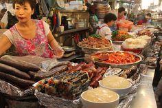 gwangjang market Korea