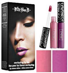 Kat Von D Everlasting Lip Duo: Lip Contour Gloss Edition