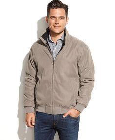 Weatherproof Jacket, Lightweight Bomber Jacket. $51.99 | Mens Wear ...