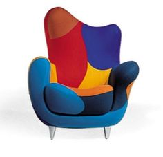 Bedin is a designer born in Bordeaux in 1957. She works in diverse materials such as marble, wood, metal and ceramic. Bedin was one of the founders of the avant-garde Memphis group in Milano in 1981.