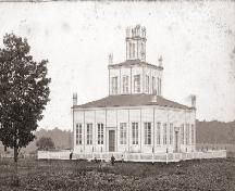 View of the temple from the north-east; Visitation Rights, Family Origin, Government Of Canada, Composition Design, Historical Sites, Ontario, Temple, Architecture Design, Trail