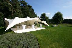 Kleines Pagodenzelt für Empfänge an der frischen Luft - Wow Events