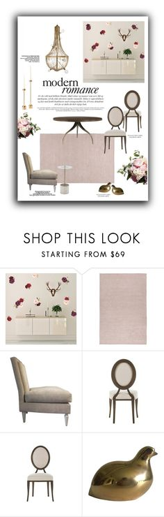 """Modern Romance: Home"" by lovekhrys ❤ liked on Polyvore featuring interior, interiors, interior design, home, home decor, interior decorating and modern"