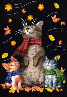 Looks like Matataku & Muramatsu cats combined. Animals And Pets, Cute Animals, Image Chat, Cat Drawing, Crazy Cats, Cool Cats, Cat Art, Animal Drawings, Cats And Kittens