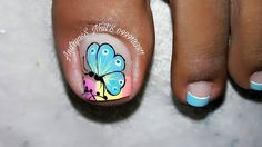 Pedicure Nail Art, Toe Nail Art, Toe Nails, Toe Nail Designs, Pretty Nails, Beauty Hacks, Hair Beauty, Turquoise, Instagram