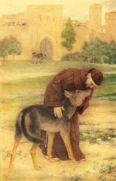pictures of st francis with animals | Lamentations 3:22-23