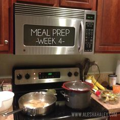 Meal Prep Week 4 // Jamie Eason Live Fit // Made with Love #eatclean #cleaneating #mealprep