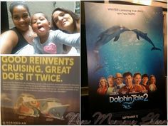 New Mommy Bliss ♥: Dolphin Tale 2 Screening with @TheMoms & Norwegian Cruise Line! #Mamarazzi