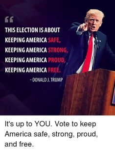 Vote Republican November 6th! Trump Is My President, Vote Trump, Pro Trump, Trump Wins, Conservative Values, Conservative Republican, Political Quotes, Republican Quotes, Republican Party