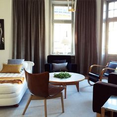 Svenskt Tenn´s Interior Design Studio's  latest assignment is a 222 meter squared apartment in the heart of Stockholm furnished in the spirit of Estrid Ericson and Josef Frank. #svenskttenn #Padgram