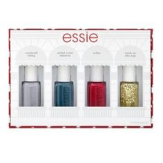 For the nail polish lover - essie 4-pc. Holiday 2015 Nail Polish Gift Set