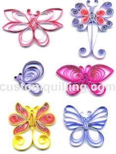 Nothing but Butterflies Quilling Kit