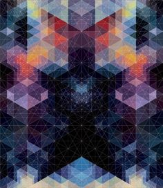 Poster . Geometric . Patterns . Andy Gilmore . Graphic Design . Illustration