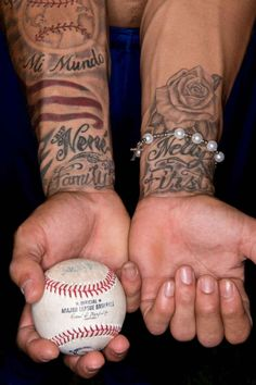 Cubs star Javier Baez was 16 years old when he got his first tattoo in high school in Puerto Rico. Since then, he's added more than a dozen. We got the stories behind each one.