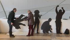 Exposición sobre os 25 anos de cine galego. Foto: Manuel G. Vicente