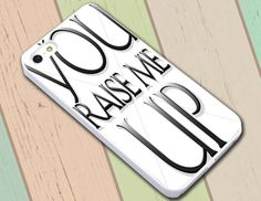 Thanks You Raise Me Up WN | iPhone 6 Case, iPhone 6S Case, iPhone 6 Plus Case, iPhone 5S Case, iPhone 5C Cases - SCRYL