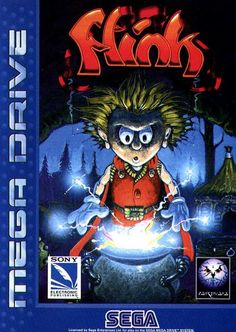 The Misadventures of Flink Video Game Art, Video Games, Retro Video, Arcade Console, Sega Cd, Evil Wizard, Sega Mega Drive, Games Box, Sega Genesis