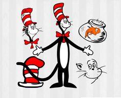 cat in the hat clip art - 675×550