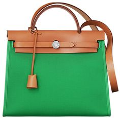 Hermes Zip Tote in Toile. Beauty incarnate. Goes on my list, right after the Delvaux Brillant GM. ♥️