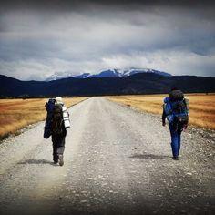 Camino a Torres del Paine. Foto de Rodrigo Cárcamo.