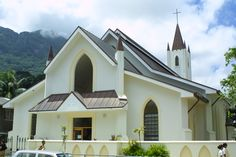 St. Paul's Cathedral, Revolution Avenue, Victoria, Mahe, Seychelles