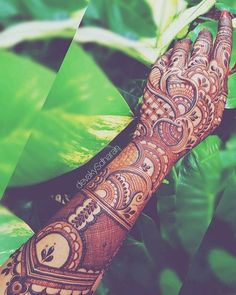 Beautiful Bridal Mehndi