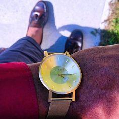 "Mr.kool //Austin ™ on Instagram: ""#detailoftheday watch by @klasse14 #watches #watch #timepieces #time #wrist #wirstwatch #marionobile #lifestyle #klasse14 #klasse14style #gold #volare #nyc #gainfollowers #gainpost #igdaily #igaddict #wristgame #accessories #lovewatches"""