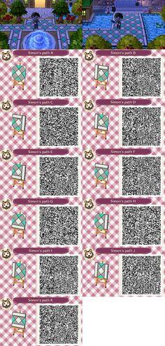 Animal Crossing: New Leaf & HHD QR Code Paths : Foto