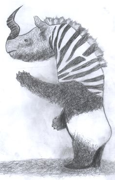 Chimère - Galerie de l'évolution - MACMNICHI Mélanie