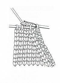 Abnehmen am Rand Mehr knitting for beginners knitting ideas knitting patterns knitting projects knitting sweater Crochet Edging Tutorial, Crochet Lace Edging, Filet Crochet, Crochet Afghans, Easy Knitting, Knitting For Beginners, Knitting Socks, Knitting Wool, Knitting Daily