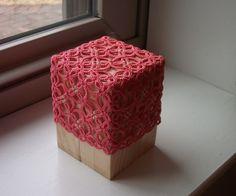 Box tatted by Nicola Gooday Bowersox