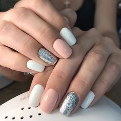 What manicure for what kind of nails? - My Nails Fancy Nails, Trendy Nails, Perfect Nails, Gorgeous Nails, Natural Gel Nails, Nagellack Design, Seasonal Nails, Artificial Nails, Toe Nails