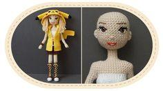 Девушка Пикачу крючком, часть 9 (Лицо). Crochet Pikachu girl, part 9 (Fa...