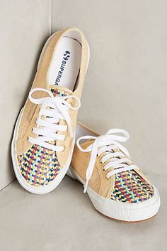 Superga 2750 Raffia Sneakers