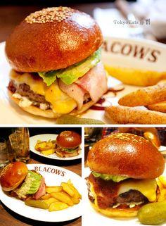 Best burgers in Tokyo!