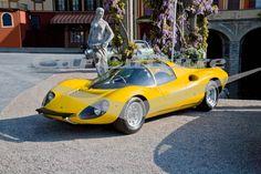 Ferrari Dino 206 Competizione - Limited Edition Fine Art Print