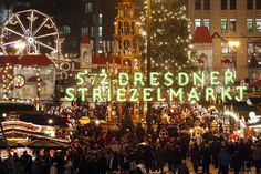 German Christmas markets, some of which I've been to, some I haven't yet.