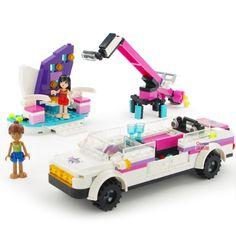 303pcs Girls Series Video Music Awards Toy Enlighten Building Bricks Car Blocks Children Figure Bricks Toy for Girls K0346-14528 #Affiliate