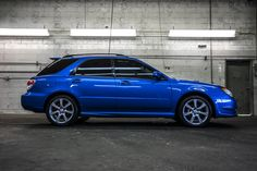 Used 2007 Subaru Impreza WRX AWD with miles at Northwest Motorsport in Puyallup, WA. Buy a used Blue Subaru Impreza. Subaru Hatchback, Subaru Wrx Wagon, Subaru Impreza Sport, Jdm Subaru, Subaru Cars, Subaru Forester, Wagons For Sale, Honda Civic Si, Mitsubishi Lancer Evolution